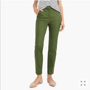 J Crew Slim crop chino pants